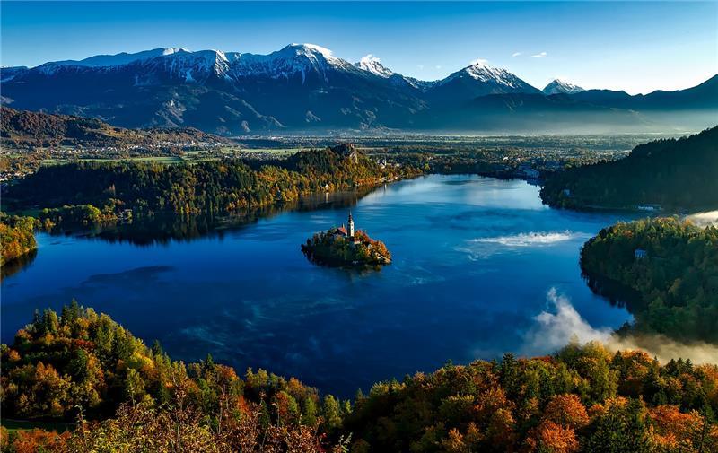 Bled i Ljubljana
