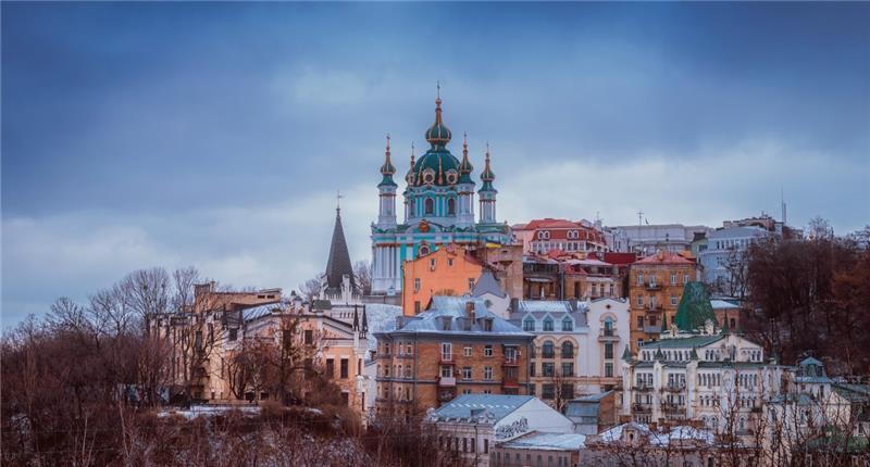 Ukrajina; Kijev i Lavov za Novu Godinu