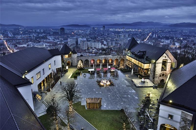 Advent; Bled i Ljubljana