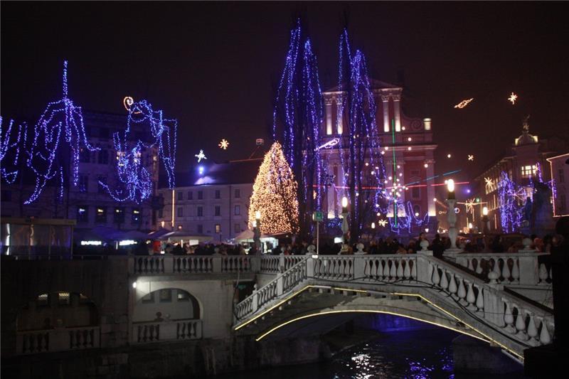 Advent Bled i Ljubljana - jednodnevni izlet