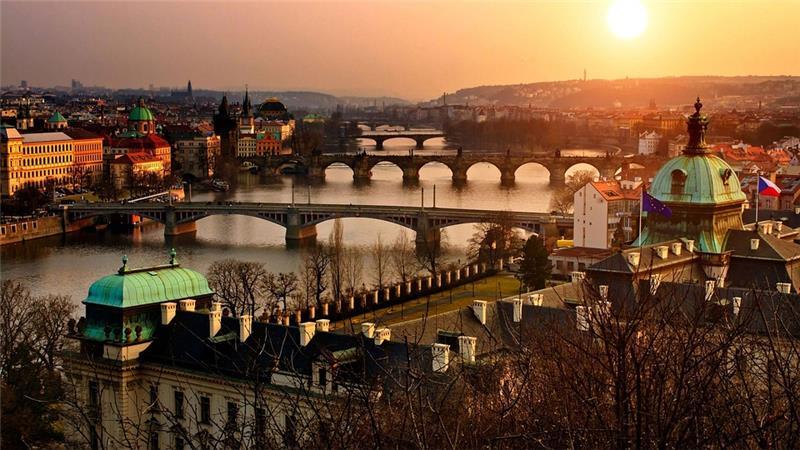 Advent i zima - Prag - Beč - Češky Krumlov